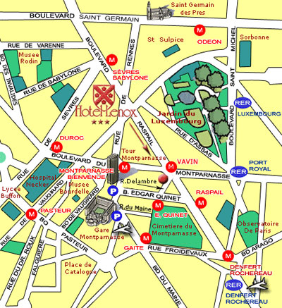 Hotel Lenox Paris
